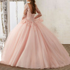Custom New Beaded Quinceanera Dress Formal Prom Party Wedding Dresses Ball Gown