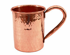 Moscow Mule Hammered Pure Solid Copper Cup Mug 14 oz For Use Restaurant Bar Beer