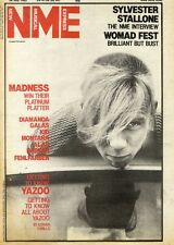 24/7/82PGN01 NME COVER PAGE : YAOO'S VINCE CLARK