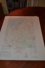 1940's Army topographic map Fair Haven New York -Sheet 5670 I SW