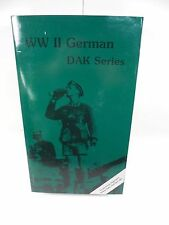 "BRAND NEW WWII GERMAN DAK PRIVATE PANZER REGIMENT 5 12"" FIGURE MIB IN THE PAST"