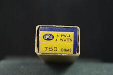 Five NOS NIB IRC 750 Ohm 4 Watt Wire Wound Resistors
