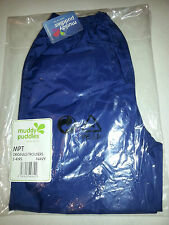 MUDDY PUDDLES navy Originals  waterproof trousers Age 2-3 rrp£12