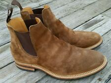 GREAT Viberg Snuff Suede Leather Chelsea Boots size 11 Dainite $710 AWESOME 11.5