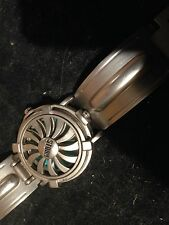 Rare Retro Storm Turbine Flip Face  watch in full working order