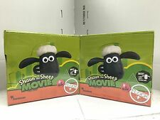 Shaun the Sheep The Movie Characters' Figures in Blind Bags x 2 BOXES (38 x 2 b)