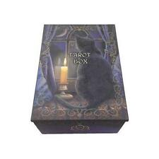 "4"" x 5 1/2"" Black Cat Tarot Box  - Wiccan Altar Supply Ceremonial"