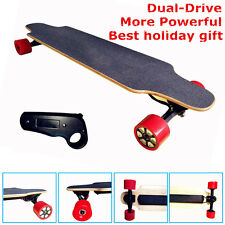 Double Motor Electric Skateboard Remote Control Four Wheel Longboard LG Battery
