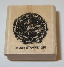 Ball of Yarn Rubber Stamp Cats Kittens Knitting Crochet Stampin' Up! Retired 06