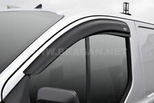 2013+ Ford Transit Custom Side Window Wind Rain Deflectors Van Accessories
