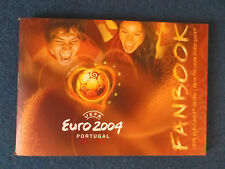 UEFA European Championships 2004 Fanbook. Pocket Guide to the tournament.