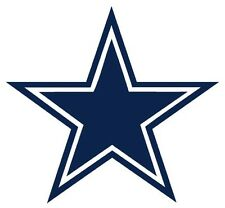 "12"" Dallas Cowboys Star HUGE Wall Decal Sticker Car Truck Glass"