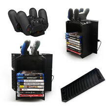 Multifunctional Storage box Stand Charging Dock Station For PS4 Game Controller