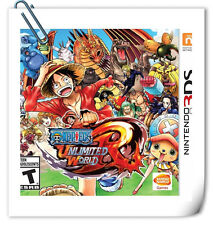3DS ONE PIECE: UNLIMITED WORLD RED Nintendo Action Adventure Namco Bandai Games
