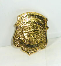 GÖDE Polizeiabzeichen - Hartford Captain Ret'D Police Badge Polizeimarke #31*WR8