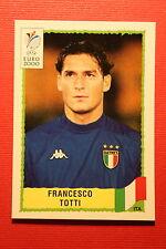 Panini EURO 2000 N. 181 ITALIA TOTTI TOP MINT WITH GREEN BACK