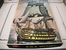 UPC model HMS Victory niob parts sealed #5016 complete w/instructions