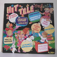 "33T HIT TELE TV ENFANTS Vol 2 Disque LP 12"" J FIRST STARSKY & HUTCH GOLDORAK"