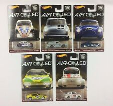 Hot Wheels Car Culture Air Cooled 5 Car Set Volkswagen VW Porsche Fiat *IN HAND*