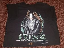 Vintage WCW Sting: Out of the Darkness Official T-Shirt Men's M Medium 1999