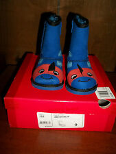 NEW $40 JUMPING BEANS TODDLER SIZE 4 BLUE JBMUSHUBLUE FUR LINED BOOTS SHOES