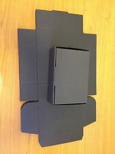25 economy black cardboard postal boxes 152x102x52mm direct from manufacturer
