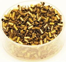 Vintage Brass Tube Crimp Beads 2 x 3 Mm Pkg.of 100 P. (Hole 1.5 mm ) Raw Brass