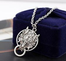 Final Fantasy VII Cloudy Wolf  Stainless Steel Chain Necklaces & Pendant Charm