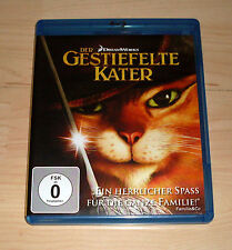 Blu Ray - Der gestiefelte Kater - Dreamworks ( Blueray Bluray AnimationsFilm )