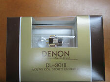 Denon DL 301 Moving Coil MC cartridge DL301II FROM JAPAN
