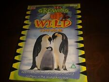 NEW AND SEALED - GROWING UP WILD - DVD BOXSET