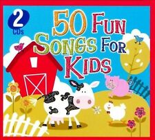 50 Fun Songs For Kids~BRAND NEW 2 CD SET~Fast1st Class Mail