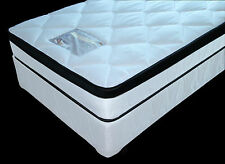 Dream Weaver King Single Bed Ensemble Royal Ortho Silver NEW Pillow Top No Turn