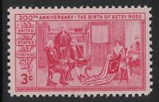 Scott 1004- Betsy Ross Displaying Flag- MNH 1951- unused mint stamp
