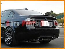 #668 Black M3 Look Trunk Spoiler Wing Lip for BMW E90 325i 328i 335i Sedan 05-11