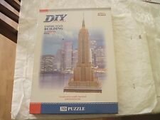 Empire State Building 3D 55 Pieces Puzzle by DIY build my world