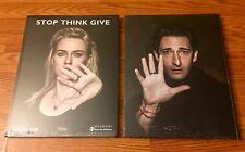 NEW- STOP THINK GIVE by Fabrizio Ferri- Bulgari/Save the Children Hardcover Book