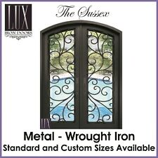 LUX Wrought Iron Doors - The Sussex - FREE DELIVERY AUSTRALIA CBD