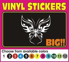 Tribal BUTTERFLY Racing Car Truck wall Vinyl Decal Graphics stickers Design #1
