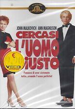 Dvd **CERCASI L'UOMO GIUSTO** con John Malkovich nuovo sigillato 1987