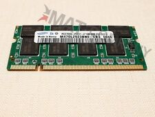 Samsung 1gb DDR 333 MHz RAM NOTEBOOK così DIMM pc2700 ddr1 Laptop memoria di marca