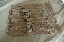 FOUR USMC ASSAULT PACK STRAP KIT COYOTE BROWN PLATE CARRIER ILBE