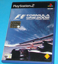 F1 Formula One 2002 - Sony Playstation 2 PS2 - PAL