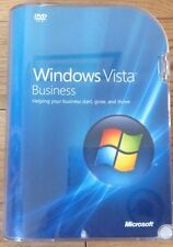Microsoft Windows Vista Business Operating System Boxed Retail Full Version