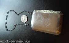 Antique Sterling silver purse with chain by the Webster Co