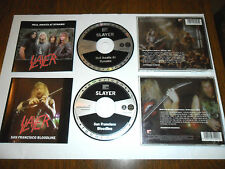 SLAYER Rare lot CD Live (Metallica Megadeth AC DC Iron Maiden Kreator Sepultura)