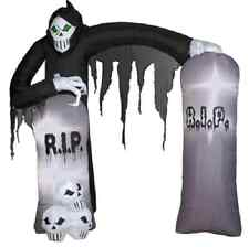 Halloween Archway Inflatable - Reaper Airblown Yard Decoration Prop RIP