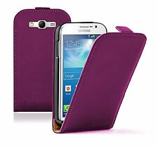 Ultra Slim PURPLE Leather Case Cover Pouch for Samsung Galaxy Grand Neo GT-i9060