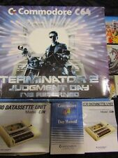 Commodore C64C 64 Terminator 2 Computer Console + Joystick Games Refurbished