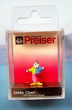 HO Preiser 29084 Standing Circus CLOWN  : 1/87 scale Individual Figure